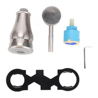 Pull Down torneira da cozinha dupla Bicos Repair Tools set acessórios de casa de banho