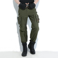 Свобода Knight на открытом воздухе штанах нескольких карманных Джерси Мужчины Army Green Военные Походные Кемпинг Длинные брюки