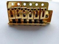 جسر كروم الذهب غيتار جسر احدة تهديج اهتزاز Elecric غيتار غيتار كهربائي في الأوراق المالية