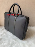 """Nouvelle Arrivée Fashion Designer 15.6 """"Sac d'ordinateur portable Cross Body Opondéron Cahier Businack Business BesignCase Sac avec Hommes Messenger Sac 53361"""