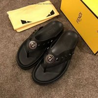 High- end Sandals Fashion Top Brand Slippers Men' s Shoes...