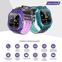 Feelbiti Kids Smart Bracelet con fotocamera Touch Screen Smart Watch SOS Phone Call GPRS Tracker SIM Orologio per bambini