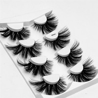 FREE UPS 4 Pairs 25 mm 6d Faux Mink Lashes with Package Box ...