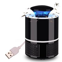 USB Electric Mosquito Killer Lamp LED Bug Zapper Light Pest ...