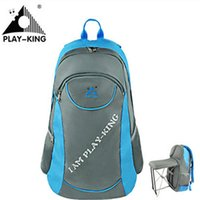 PLAYKING Outdoor Backpack Fishing Folding Backpack Multifunc...