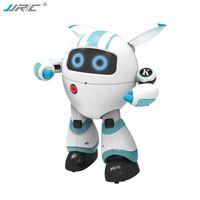 JJRC R14 Fernbedienung Begleiten Roboter, Frühe Bildung Spielzeug singen Tanzen und erzählen Geschichte, programmierbar, für Party Weihnachten Kind Geburtstagsgeschenk