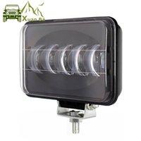 XuanBa6D 렌즈 도로 트랙터 작동 모는 빛 헤드라이트 떨어져 트레일러 4wd ATV SUV UTV 트럭 4x4 를 위한 6 인치 사각에 의하여 지도되는 일 빛