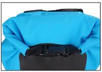 Дизайнер-открытый плавательный путешествия водонепроницаемый кемпинг рюкзак ПВХ брезент водонепроницаемый сухие сумки 25 л сухие сумки рюкзак