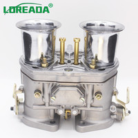 OEM 48 IDF Carburetor with Chrome Air Horns Fits For VW Volk...
