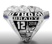 Großhandel neues England 2018 - 2019 Saison Patriot s Championship Ring