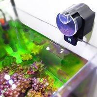 Wyposażenie gadów sprzęt do podawania samochodowego Automatyczne dla ryb Krewetki Turtle Tank Feeder Timer Food