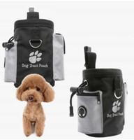 Hundetraining Beutel Kordelzug trägt Haustierspielzeug Lebensmittel Kacke Taschen Taschen Welpen Freisprecheinrichtung HEARPET TREAT HAIST BAG Haustiere Produktbedarf