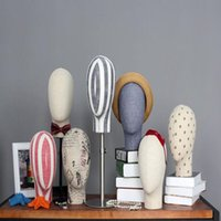Großhandel 4style männliche kopfschaufensterpuppe hut hoop brille bekleidungsgeschäft aufhänge anzeige requisiten einstellbar körpermodell 1 stück b606