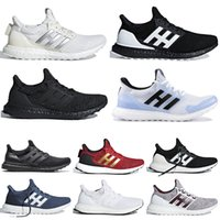 Adidas utral boost 3.0 4.0 Classic Basket Plataformas Casual Shoes Velvet Cracked Leather Suede Mens Women Fashion Designer Running Sneakers