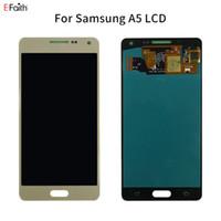 Super AMOLED LCD para SAMSUNG Galaxy A5 2015 A500FU A500 A500F A500M de visualización de la pantalla táctil de reemplazo digitalizador