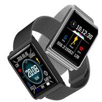 N98 Smart Watch Männer Frauen intelligente Uhren Fitness Spur Band Herzfrequenz-Blutdruckmessgerät Wasserdicht Armband Wecker