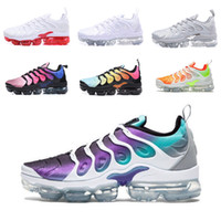 Nike Air Vapormax TN VENTA CALIENTE 2018 Nuevo 2018 TN Plus Metallic Olive Men Mens Running Designer Luxury Shoes Sports Sneakers Trainers 40-45
