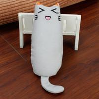 القط لعبة الأسنان طحن النعناع البري اللعب الخيش لطيف التعبير الإبهام لعبة مخالب التفاعلية طحن دغة مضحك القط وسادة بقعة