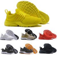 2019 Running Shoes PRESTO BR QS Breathe Yellow Black White M...