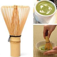Yeni Japon Töreni Bambu Chasen Matcha Toz 002 Hazırlamak için Yeşil Çay Çırpma Teli - Kahve Çay Araçları LX7983