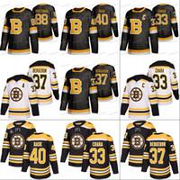 Boston Bruins Zdeno Chara Terceiro Jersey Tuukka Rask David Krejci Torey Krug Brad Marchand Charlie McAVoy Jake Debrusk David Pastrnak Halak