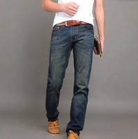 2018 famosos de la marca de Jeans para hombre, la alta calidad de los pantalones vaqueros de los hombres, 100% algodón regular Men Jeans, pantalones vaqueros de hombre robin de mezclilla homme FW598