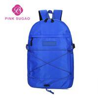 Cor-de-rosa sugao mochilas desenhador de luxo sacos de viagem bolsa impressão letra moda estudante escola nylon grande capacidade back pacote