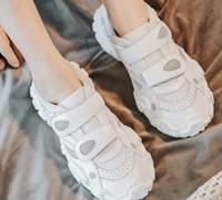 작은 흰색 운동화를 여성을위한 공식적인 아름다운 고유의 편안하고 멋진 부츠 통기성 조수 신발 신발을 실행하는 2019 여성 여자 숙녀