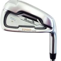 Neue Golfclubs Romaro Ray V Irons 4-9P Geschmiedete Golfeisen Set Stahl- oder Graphitwelle R- oder S-Klubschacht Freies Verschiffen