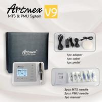 Artmex V9 Permanent Microblading MTS / PMU Digitale Permanent Make-up Tattoo-Maschine Mikro Blading Stift AugenbraueEyeliner Lippen CE