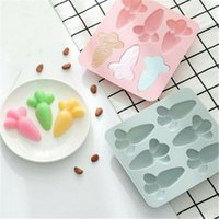 1Pcs 3D Carrot Shape Cake Mould Silicone Pudding Dessert Dec...