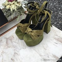 Women Leather classic temperament high heels Sandals Delicat...