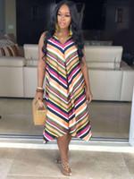 Frauen Sommer Designer Flora gedruckt Kleider Hüllen-Spalte V-Ausschnitt Backless Sleeveless Damen Kleidung reizvolle beiläufige Kleidung