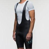 MAAP babero de ciclo cortos azul y negro 2020 del equipo de carreras con la ropa inferior antideslizante cincha 9D gel de pantalón de absorción de la almohadilla