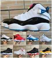 Jumpman 6 6s Anneaux Chaussures de basket-ball Six Concord Gym Red Taxi Space Jam South Beach Confetti Defining Moments Pour Hommes Femmes Chaussures