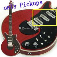 Ainico Guitar Burns Pickups Guild BM01 BM01 BRIAN MAY MAS Подпись Красная Электрическая гитара Пикапы 3 Chrome Rohs Пикапы Allguitar Factory