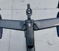 2021 새로운 도로 자전거 탄소 프레임 프레임 + 핸들 바 + 스템 + 포크 + SEATPOST + 헤드셋 + DI2 전자 시프 팅 자전거 프레임 세트가있는 헤드셋 + 클램프