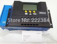Freeshipping 30A 12V 24V CM3024Z PWM خلية البطارية الشمسية لوحة تحكم المسؤول المنظمين شاشة LCD