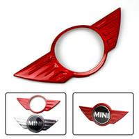 GTPARTS реальный углеродного волокна значок логотип эмблема наклейка крышка наклейка для Mini Cooper R55 R56 R57 R58 R59 R60 R61 F54 F55 F56 F57 F60