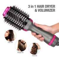 Hot selling good quality 3 in 1 hair dryer massage comb for ...