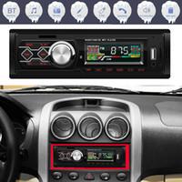 ستيريو UK STOCK راديو السيارة بلوتوث في اندفاعة رئيس وحدة لاعب FM MP3 / USB / SD / AUX
