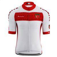 2020 nuevo rojo de Turquía equipo de ciclismo profesional de bicicleta de carretera del verano de manga corta ropa del desgaste transpirable MTB carreras de bicicleta Jersey de los hombres jersey Nacional