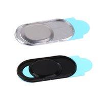 2 шт Веб-камера Обложка слайд металла Веб-камера Обложка для планшетного телефона