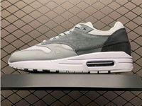 ذات نوعية جيدة 1 مدينة حزمة لندن مصمم رياضي أحذية دخان رمادي الناردين الأزرق أزياء الرياضة وZapatos حذاء رياضة تعال مع صندوق