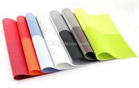 주방, 바 (45) 식사 * 30cm 사각형 격자 PVC 절연 식탁 깔개 서양 패드 식탁 매트 쉬운 청소 플레이스