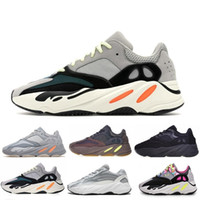 18d3f0ee1 Adidas kanye west yeezy boost 700 V2 2019 Kanye 700 Wave Runner Mauve  Inertia Geode Casual Chaussures Hommes Femmes West 700 designers Chaussures  Hommes ...