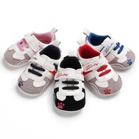 Baby boys girls fashion casual sneakers cute bear paw print ...