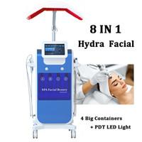 Professionnel Oxygen Jet pulvérisateur Hydra Machine faciale Microdermabrasion Soins de la peau Hydro Eau de l'oxygène Injection de peau Peaux pour l'acné