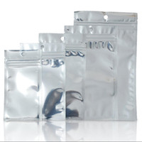 Aluminiumfolie aus Kunststoff Zip-Lock Beutel Klar Resealable Mylar Zipper-Pakete Beutel für Handy-Fall-Kabel Batterie Aller Kleinverpackung