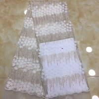 Free Shipping by DHL! High quality guipure lace sequence lac...